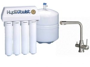 HydROtwist 4 Stage Reverse Osmosis Purifier & 3 Way Mixer Tap
