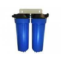 "Twin Scale Reduction Water Filter System 10"" Premium Phosphate"